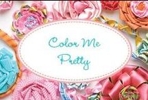 Color Me Pretty / Color pallets that are special
