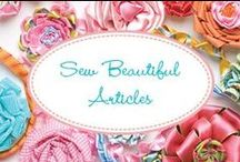 Sew Beautiful Articles / Stuff from the articles I wrote for Sew Beautiful Magazine (RIP)