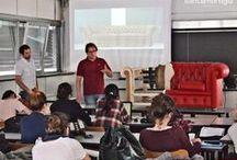 Santambrogio Salotti si presenta al Politecnico di Milano / Anche quest'anno ci siamo presentati agli studenti del 2°anno della Facoltà di Design dell'arredo al Politecnico di Milano, (Polo di Como). Gli studenti si sono mostrati interessati e hanno partecipato attivamente, e non possiamo esserne che contenti!