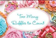 Too many ruffles to count