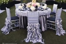 Table Linens, Backdrops, & Chair Covers