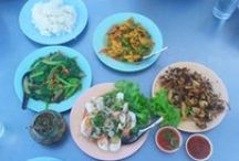 Thai food / Just a few of my favorite Thai dishes. There are so many more that I love too.