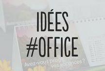 Idées #Office / Vous retrouvez ici une sélection de produits pour la communication institutionnelle de votre entreprise.