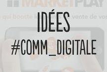Idées #Comm_Digitale / Vous le savez la communication se digitalise de plus en plus. Vous retrouverez ici une sélection de produits qui vous permettront d'optimiser votre communication digitale.