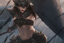 Knight / Warrior / by Diogo Reis