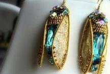 Embroidery Jewelry MagicSheba Ювелирная вышивка / Это мои работы. Тонкая вышивка украшений бисером, канителью. Мир должен быть красивым, а женщина еще красивее!