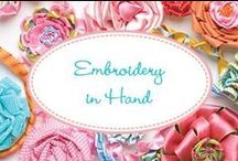 Embroidery in Hand