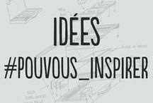 """Idées #PourVousInspirer / Ce tableau est comme """"La boîte à idées"""": une source d'inspiration"""