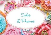 Sales & Promos / Our current sales!