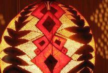 Gourd lamp  cosmic flower / Gourd lamp by Ninjasystem,s