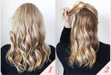 Hair / Long, short, curly or straight, a great hairstyle is the best way to add that last finishing touch to your outfit! #longhair #hair #hairstyle #style
