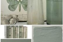 Collage L'Authentique Paints & Interior / L'Authentique Paints & Interior, color inspiration.