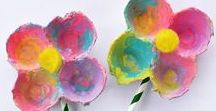 Spring Crafts for Kids and Spring Activities for Kids / Spring arts and crafts, spring activities, spring-themed crafts, spring crafts, Easter crafts. Spring crafts for kids. Spring activities for kids.