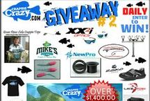 Crappie Crazy Giveaways / Giveaways at CrappieCrazy.com