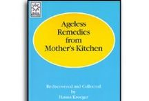 Home Remedies / You'll be amazed at all that you can do in your own kitchen. These time-tested treasures are organized into an easy-to-read guide. http://goo.gl/QFv0P7  Our blog has more tips at www.blog.hannasherbshop.com
