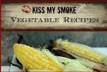 *Vegetable Recipes: Kiss My Smoke * / Grilled Vegetable Recipes from the grilling blog, Kiss My Smoke. Enjoy!
