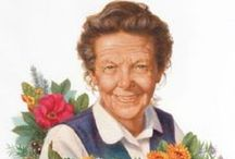"""Happy 100th Birthday HANNA! / We're celebrating what would have been Hanna's """"100th birthday"""" this Saturday, Oct. 5! She was loved by thousands, graced millions of lives on the internet and is missed by us every day. An icon in homeopathic medicine, may her spirit lives on through us!"""