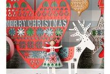Christmas Decorations / Unique Decoration ideas for Christmas. Quality crafted Xmas decor from makers such as Shoeless Joe brought to you by Shabby Chicken Limited.
