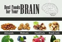 Brain Health / Because we can all use increased blood flow to the brain! These favorites and help dementia, depression, and other cerebral issues to increase mental alertness, aid with concentration, improve memory, and increase overall circulation to the brain.