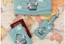 Explore the World! / Travel and explore the world in style with beautiful accessories, ranging from bags to passport holders.