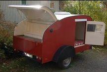 Kärryt / Teardrop trailers, Caravans