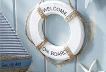 Nautical Decor / Bring the feeling of a holiday by the sea into your home with this selection of seaside inspired products.