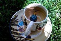 Meseváros a konyhádban / Tale town in your kitchen / Saját tervezésű, kézzel készített egyedi kerámia készletek mesevárosból. Cicák, csigák, házikók, katicák / Designed and hand maded ceramic sets from Tale Town. Cats, snails, cottages, ladybirds