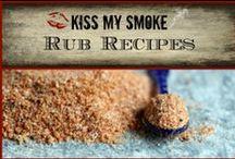 *Rub Recipes: Kiss My Smoke* / Rub recipes from the grilling blog, Kiss My Smoke!