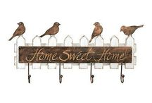 Birds in the House / Bird décor for the home...Please keep pins board related. Duplicates or inappropriate pins will be deleted without question or notification which could result in repeat offenders being blocked from the board. Please, don't let this happen...