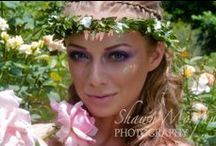 Themed shoots / Themed photo shoots with hair and makeup design