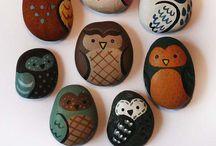 Kövek, stones