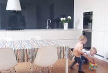 Kangastus at home / Kangastus kotona / Peek in to finnish home's / Kurkistuksia suomalaisiin koteihin ja niiden erilaisiin tunnelmiin // Klassinen, moderni, rauhallinen tai räväkkä, Kangastuksen kuosit ovat kotonaan kaikkialla.