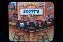Coasters & Beer Mats / Huge Collection of Coasters, Beer Mats and things to put your drink on.