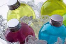 Bubbles / Piccoli drinks colorati, moderni, tonificanti e rinfrescanti dai sapori e aromi impensabili.
