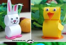 Easter / Preschool games and crafts for Easter