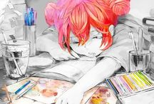 Drawing and Painting / And manga/anime ilustration