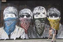 lenn az utcán / street art
