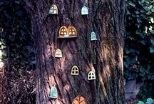Tündérfák / Fairy trees / Ajtók, ablakok, kiegészítők tündérfákra / Doors, windows, accessories for fairy trees  #kerámia #kertidísz #tündérfa #myceramics #gardenceramics