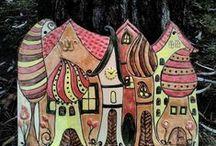 Órák, házszámok, fali dekorációk / Házszámtáblák, órák, fali dekorációk / House number plates, wall clocks, and other decorations