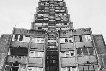 Brutalist Architecture / Brutalism, concrete, modernist, comunist architecture