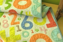 Baby Quilts / I make quilts for all my great nieces and nephews. My goal is always to get it to them before their first birthday.