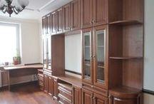 Мебель на заказ для дома / В разделе представлены фото мебели для дома (стенки, шкафы-купе, комоды, стеллажи и многое другое), изготовленной по индивидуальным заказам на нашем производстве в Москве.
