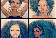 Black Natural hair is beauty
