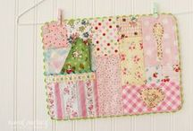 Sewing with fabric scraps / What to do with fabrics scraps? Nice projects, ideas...