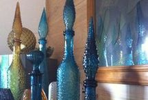 The 60's Genie Bottle / Collectable, Retro Genie Bottles..