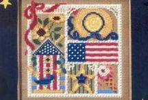 Patriotic Kits / Choose one of these bead ornament kits with a patriotic theme to add charm to your seasonal decorations! Makes a fun family project! Kits come with all materials needed for the project at a considerable savings over purchasing them separately.