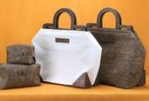 - Handbags - / A small collection of these nomadic handmade handbags.