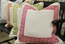 Accessories / Our favorite pillows, chairs, wall panels, and tables!