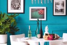 Turquoise Trend / Deep Turquoise is Trendy!