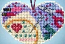Valentine's Day Kits  / Charming glass beaded hearts from Mill Hill and The Beadery -- for Valentine's Day or any special day you choose! Kits come with all materials needed for the project at a considerable savings over purchasing them separately.